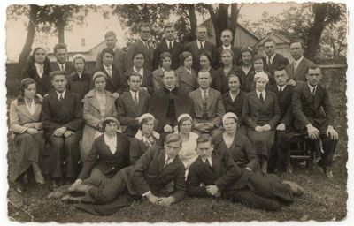 """Marijampolės """"Pavasario"""" choras. 1934 m."""