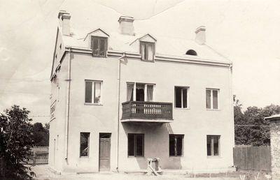 Panevėžio fotografo Jono Žitkaus namas