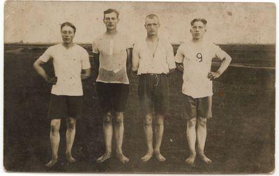 Igliaukos apylinkės sportininkai 1928-1929 m.