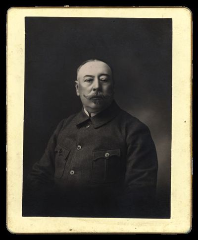 Raudondvario grafų Tiškevičių dvaro ūkvedžio Aleksandro Germano portretas