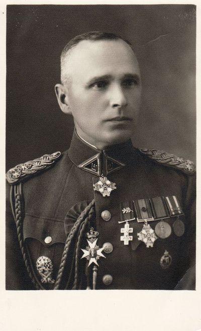4-ojo pėstininkų LK Mindaugo pulko vado Vaclovo Žadeikos portretas