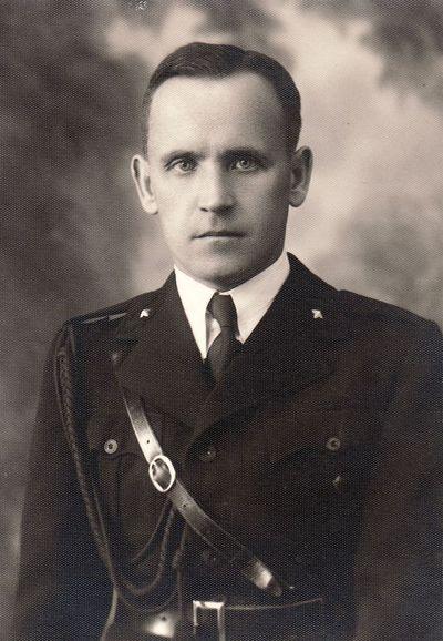 Šaulio Kazimiero Silevičiaus portretas. 1939 m.