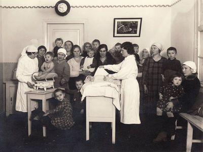 Vaikų apžiūra Panevėžio motinos ir vaiko sveikatos centre