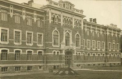 Centrinių rūmų fasadas
