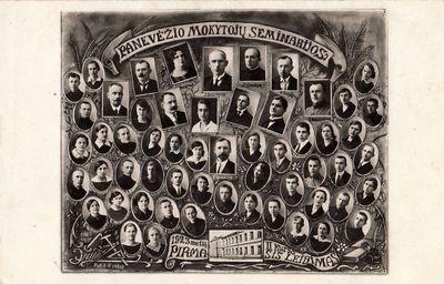 Panevėžio mokytojų seminarijos 1923 m. II kurso pirmoji laida
