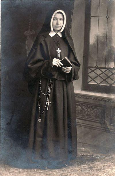 Vienuolės Konstancijos Žitkevičiūtės portretas