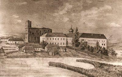 Senoji Kražių kolegija 1843 m.