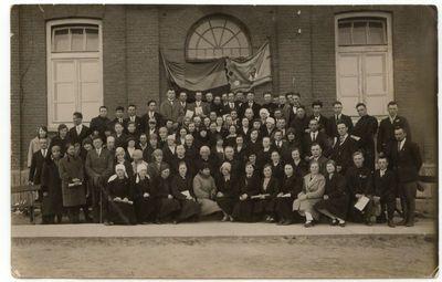 Eucharistinio kongreso organizatoriai Marijampolėje 1925 m.
