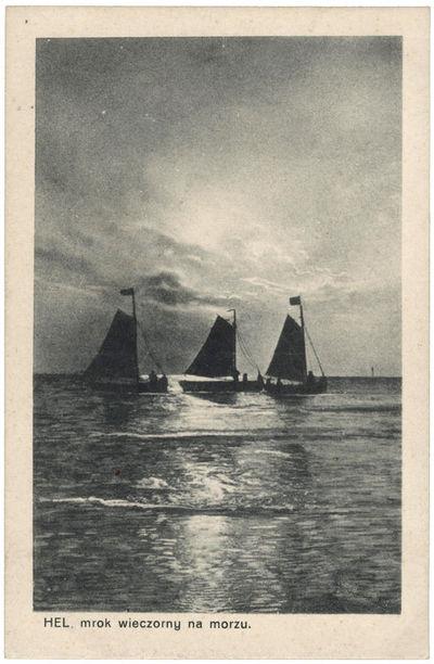Hel. Mrok wieczorny na morzu (Helas. Vakaras jūroje)