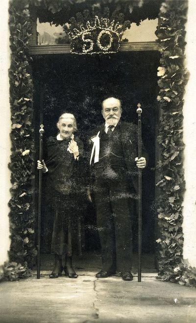 Marijos ir Aleksandro Tiškevičių auksinės vestuvės