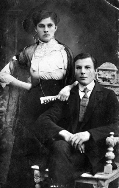 Alegejus Ruzgys su žmona