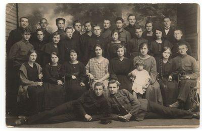 Marijampolės Realinės gimnazijos  VII klasė. 1924m.