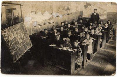 Petro Kriaučiūno pradinėje mokykloje 1929 m.