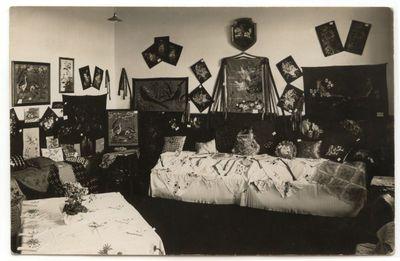 Moksleivių rankdarbių paroda . Rygiškių Jono gimnazijoje 1928 m.