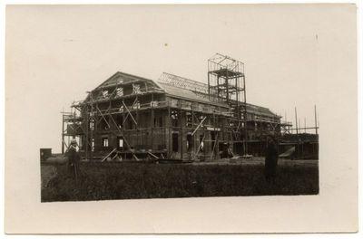 Marijampolės cukraus fabriko statyba 1931 m.