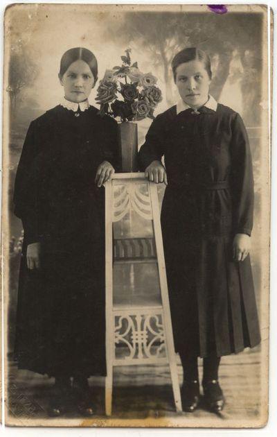 Zosė ir Albina Anbraziejūtės