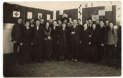 Marijampolės mokytojų seminarijos auklėtinių darbų paroda. 1926 m.