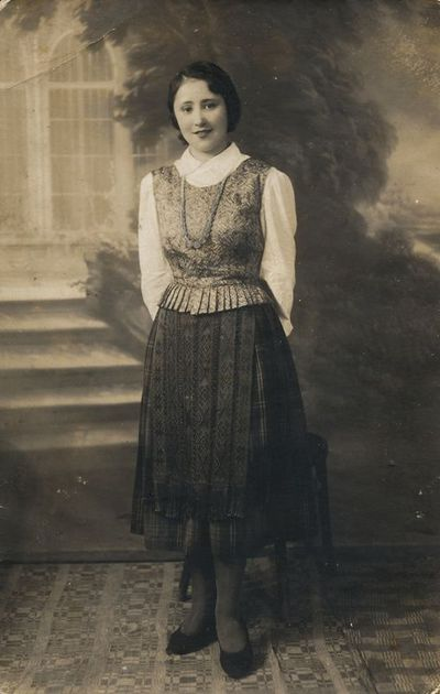 Stasės Jurgelionytės portretas