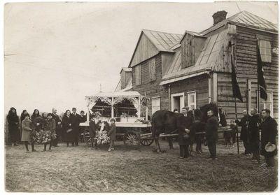 Onos Totoraitienės laidotuvės Marijampolėje 1923 m.