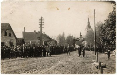 Prezidento Antano Smetonos vizitas Marijampolėje 1927 m.
