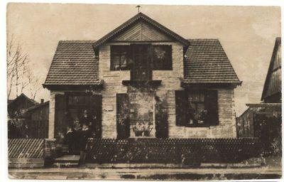 Laikrodininko Jono Dabrilos namas Marijampolėje 1922 m.
