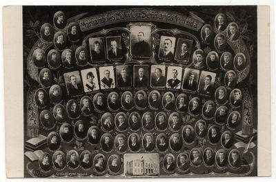 Marijampolės mokytojų seminarijos V laida 1927-28 m.