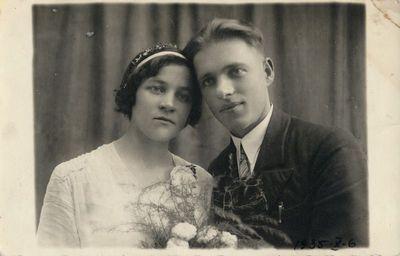 Jaunavedžių Magdalenos ir Vladislavo Juškauskų portretas