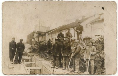 Kanalizacijos tiesimo darbai Marijampolėje 1938 m.