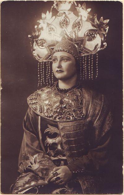 Antanina Dambrauskaitė- Militrisa Nikolajaus Rimskio-Korsakovo operoje Saltanas