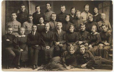 Marijampolės mokytojų seminarijos  I a. kursas 1923m.