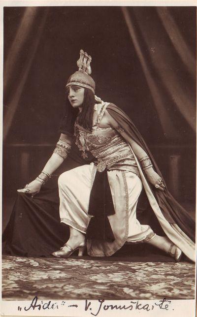 Vincė Jonuškaitė - Amneris Džiuzepės Verdžio operoje Aida