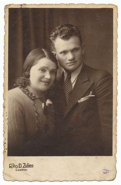 Fiodoras Blynovas su žmona