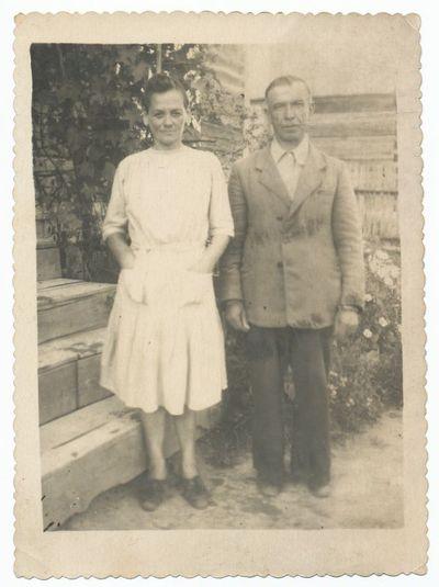 Antanas Paulavičius su žmona Antanina