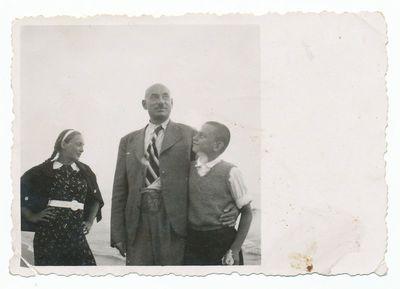 Kazys Svilas su sūnum Vytautu ir dukra Aldona