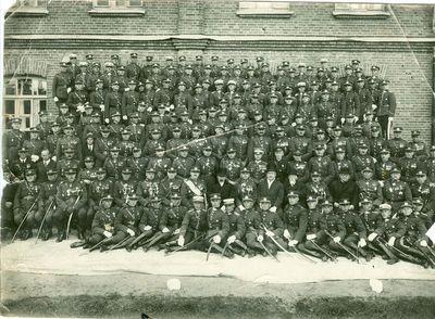 Kauno karo mokyklos kursantai