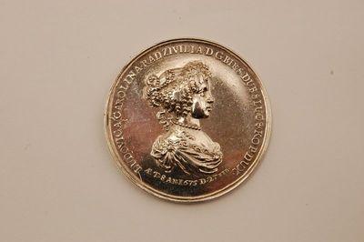Medalis Liudvikos Karolinos Radvilaitės apsilankymui Biržuose 1675 m. atminti