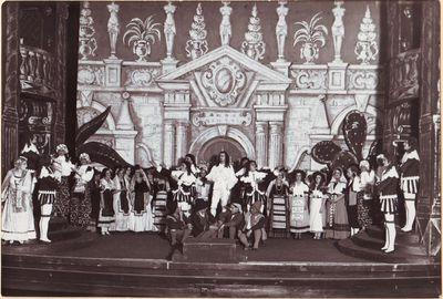 Scena iš Volfgango Amadėjaus Mocarto operos Don Žuanas