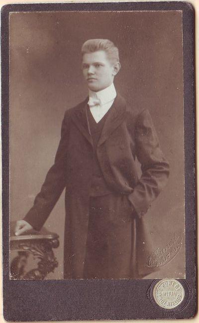 Juozas Gruodis - vargonininkas Mintaujoje