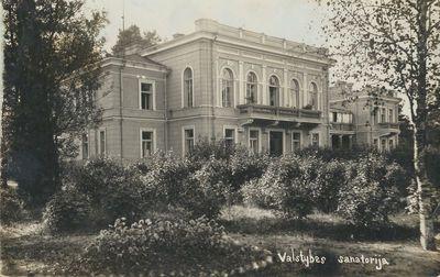 Lietuvos pirmoji valstybinė džiovos sanatorija Varėnoje