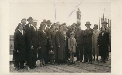 Alytiškių ekskursija prie demarkacinės linijos I Varėnoje