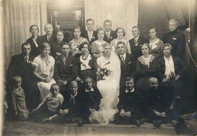 Vandos Markeliūnaitės ir Antano Stankevičiaus vestuvės