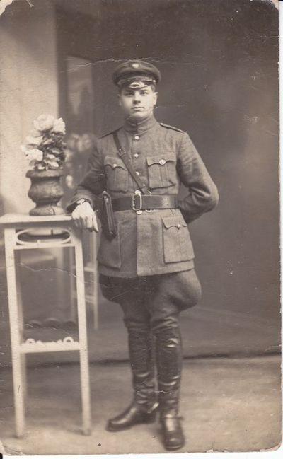 Lietuvos kariuominės karys 1926 m.
