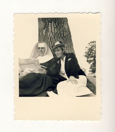 Veronika Šleivytė su vienuole Felicija