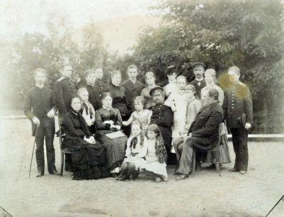 Juozapo Tiškevičiaus (1830–1891) šeima