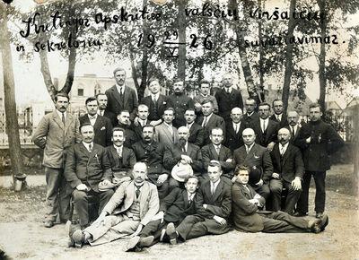 Kretingos apskrities valsčių viršaičių ir sekretorių suvažiavimo dalyviai