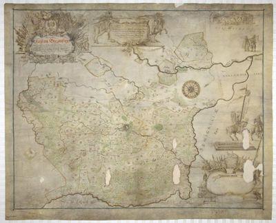 Biržų kunigaikštystės žemėlapis