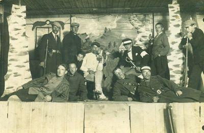 Subačiaus geležinkelio stoties vaidintojai