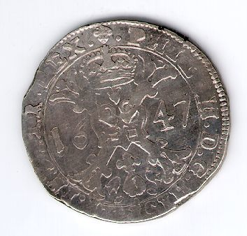 Patagonas. 1647 m. Ispanijos Nyderlandai. Brabanto provincija. Pilypas IV (1621-1665)