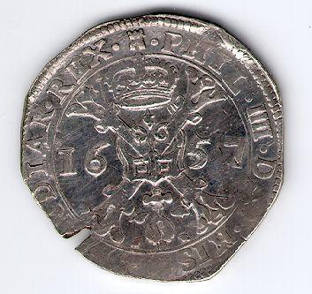 Patagonas. 1657 m. Ispanijos Nyderlandai. Turnė provincija. Pilypas IV (1621-1665)