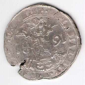 Patagonas. 1681 m. Ispanijos Nyderlandai. Brabanto provincija. Karlas II (1665 - 1700)